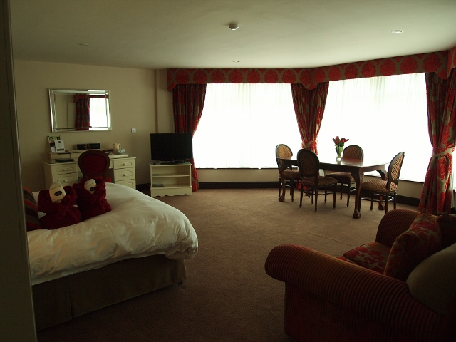 Main bedroom at Fitzgerald's Woodland's House Hotel in Adare