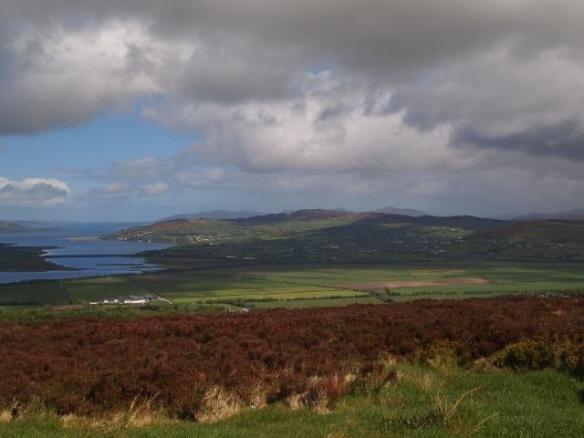 View from Grianan Ailligh, County Donegal