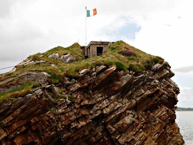 Watch house at Fort Dunree, County Donegal