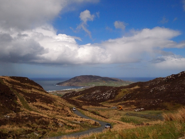 Magic Road at Mamore Gap, Donegal