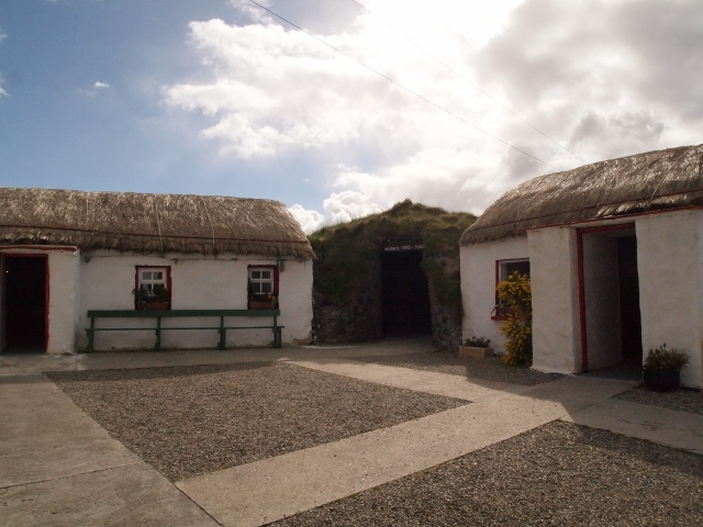 Doagh Famine Village, Donegal, Ireland