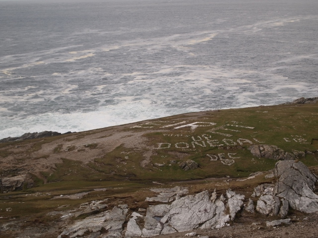 Malin Head, the most northern spot in Ireland