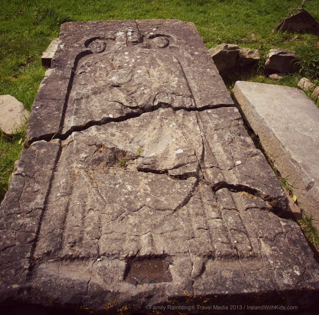 St. Nicholas Grave Stone, Newtown Jerpoint, Kilkenny, Ireland