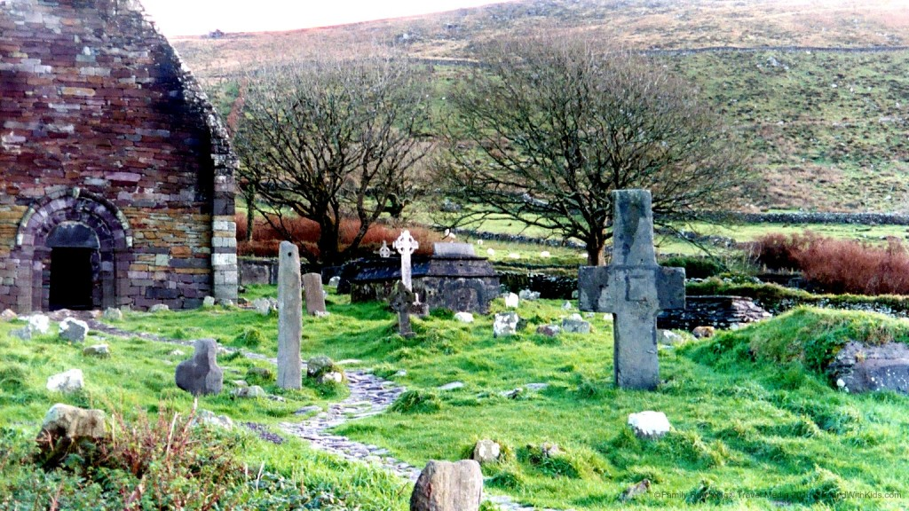 Kilmalkedar Churchyard, Dinlge Peninsula, Ireland
