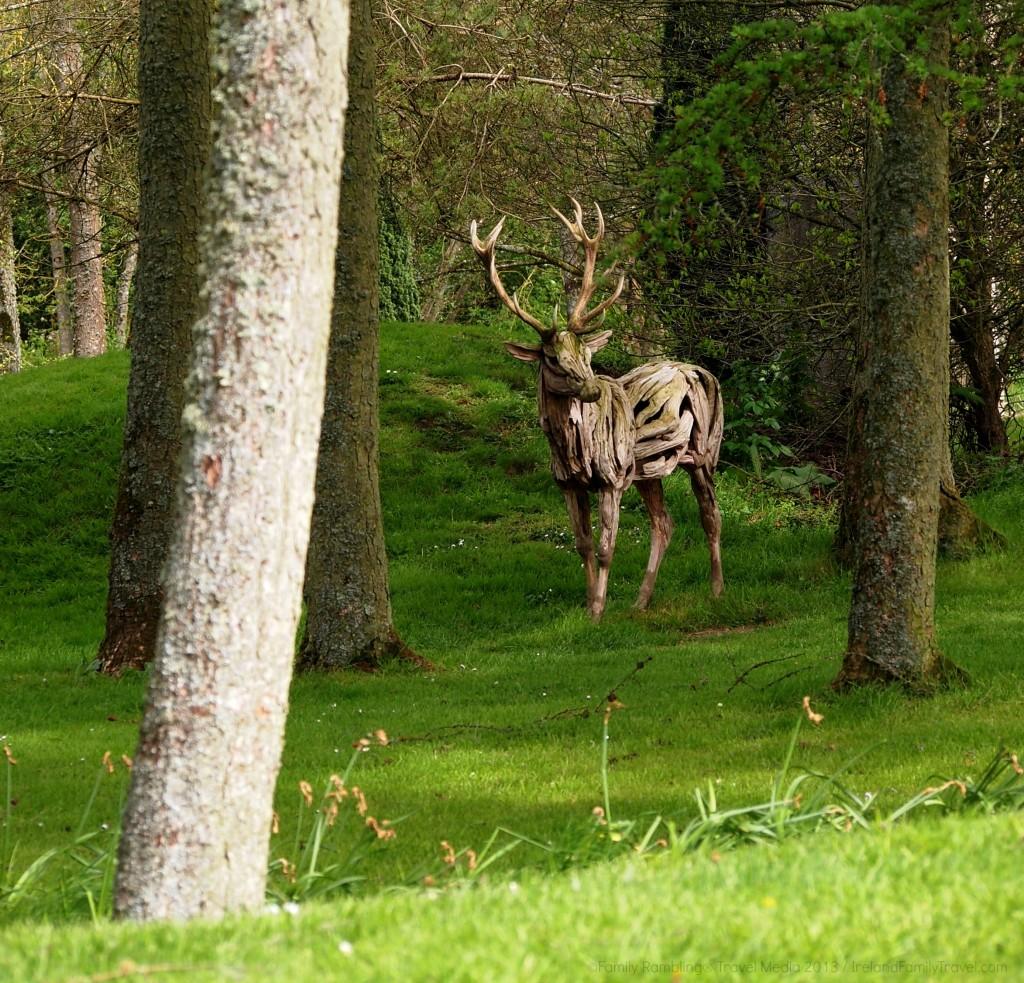 Deer Statue at Irish National Stud, County Kildare, Ireland