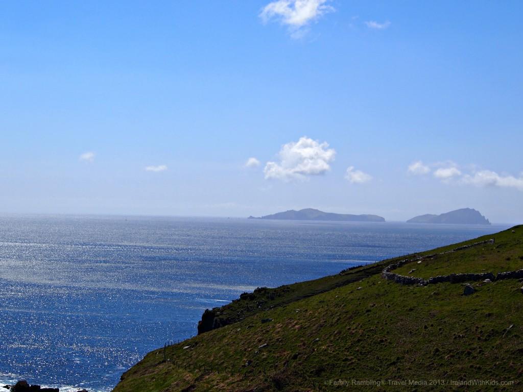 Blasket Islands off the Dingle Peninsula