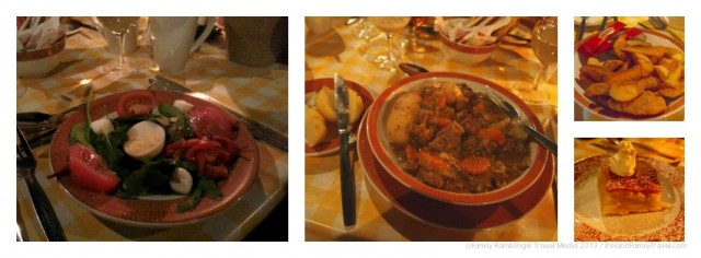 Bunratty Castle Irish Night Food