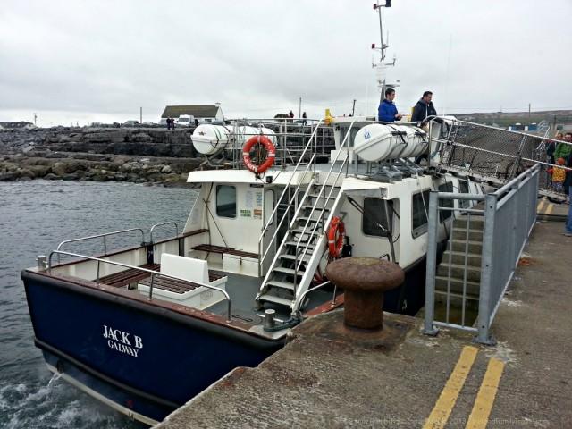 Cliffs of Moher Cruise on the Jack B, Doolin2Aran Ferries
