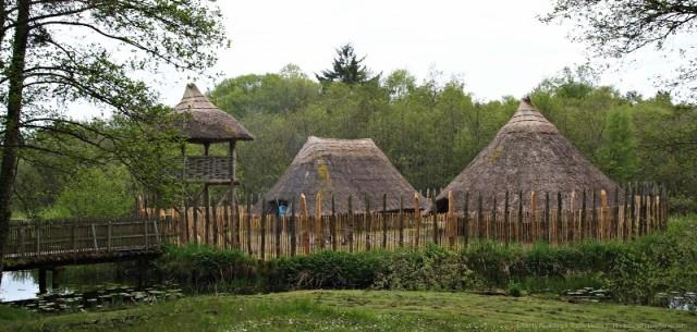 Crannog at Craggaunowen, County Clare, Ireland