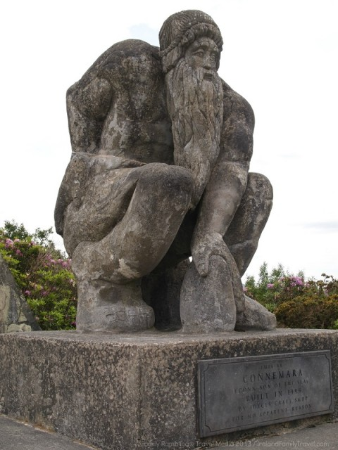 Connemara Giant, Joyce's Craft Shop, Recess, Ireland