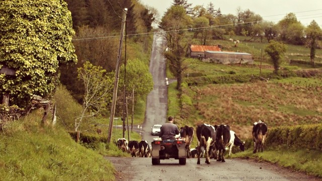 Traffic in County Fermanagh, Ireland