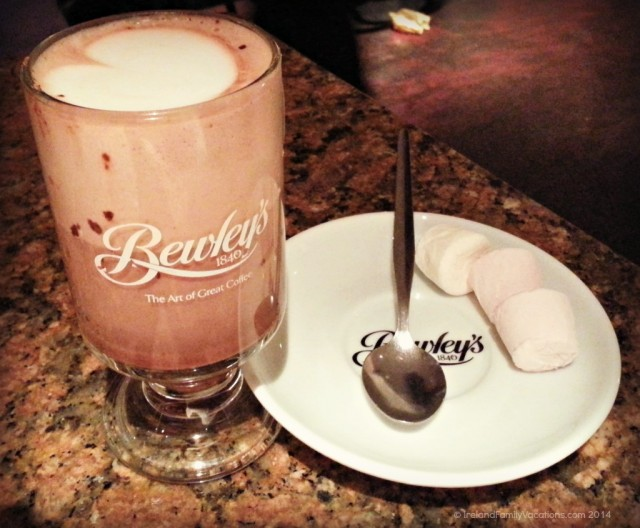 Hot Chocolate at Bewely's on Grafton Street, Dublin