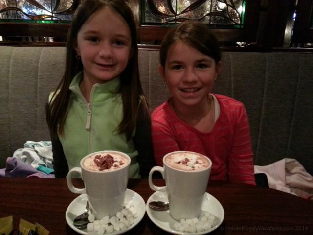 Hot Chocolate, Dooley's Hotel, Birr, Ireland