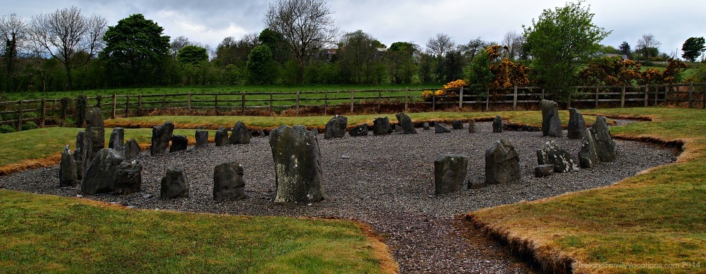 Drumskinney Stone Circle, Fermanagh, Northern Ireland