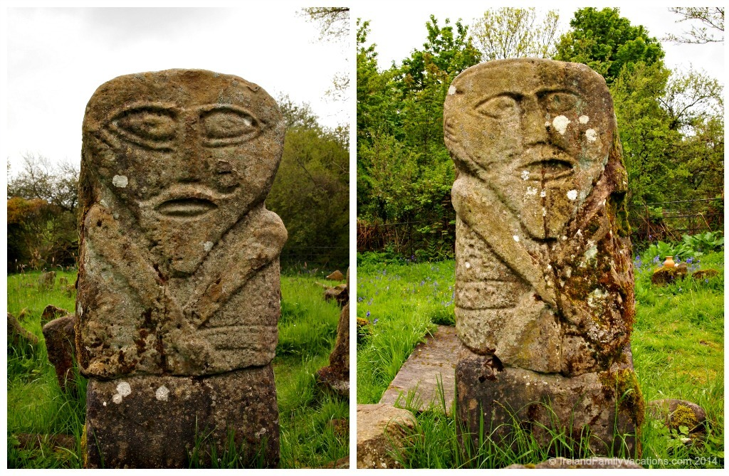Janus figure Boa Island, Fermanagh, Northern Ireland