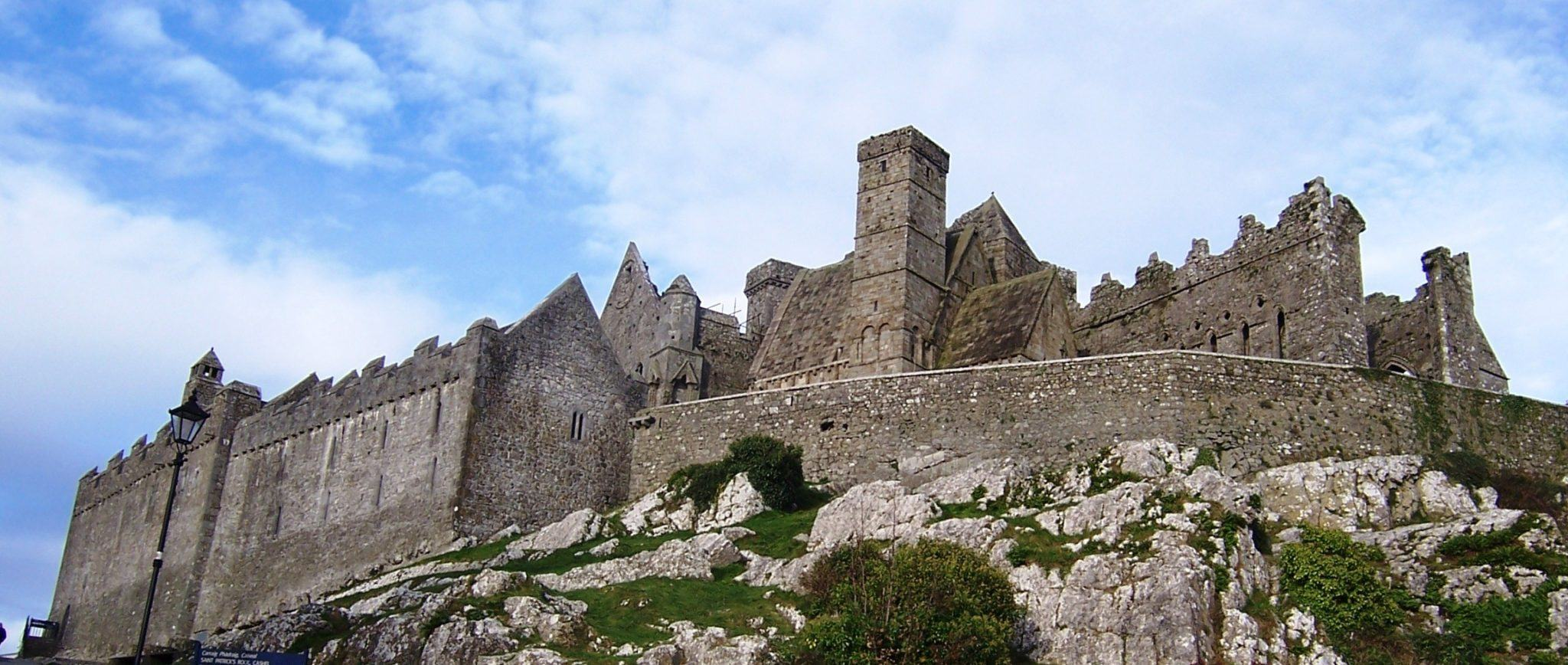 Visiting the Rock of Cashel