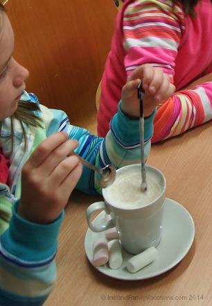 Hot Chocolate, Chocolate Garden of Ireland, Wicklow