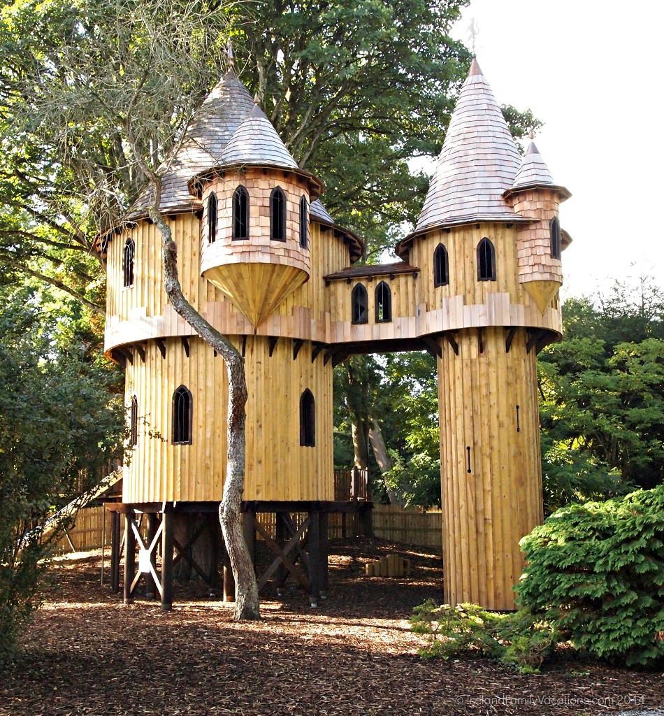Ireland S Largest Tree House At Birr Castle Ireland Family Vacatons