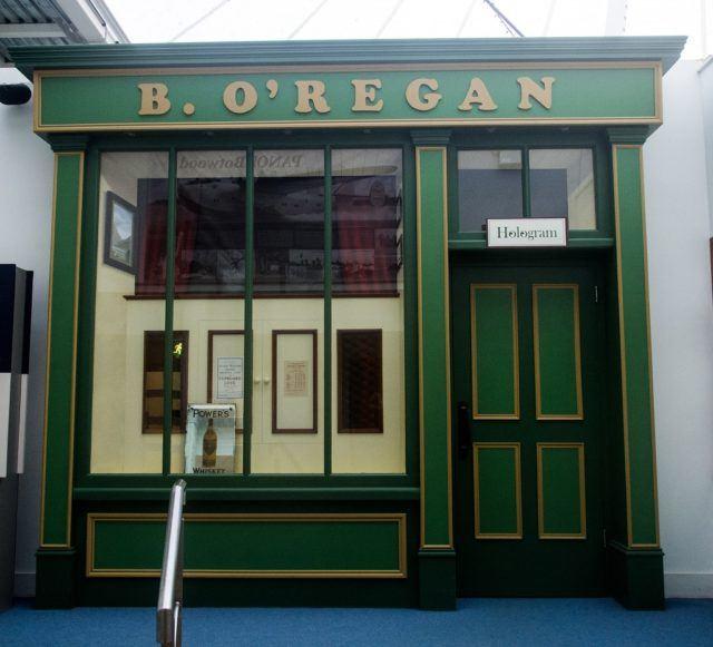Irish Coffee Hologram at Foynes Flying Boat Museum