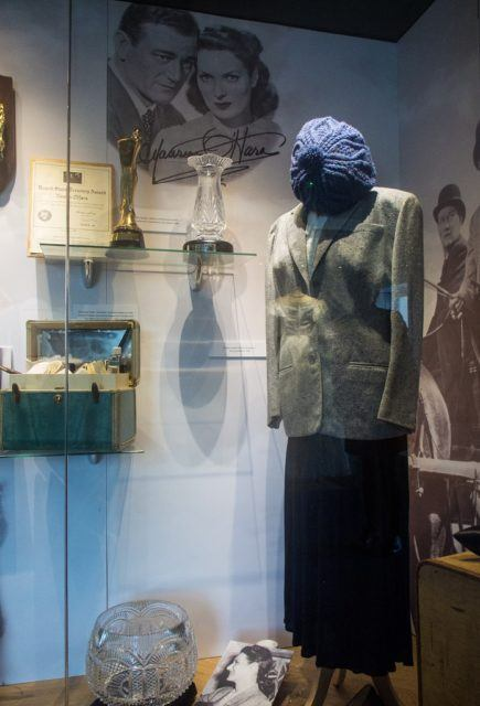 Maureen O'Hara Tribute Quiet Man, Foynes, Ireland