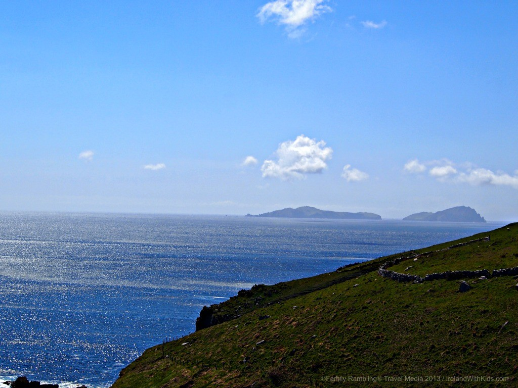 Ireland in Green and Blue on the Dingle Peninsula