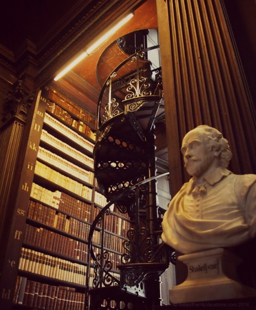 The Long Room at the Old Library, Trinity College, Dublin