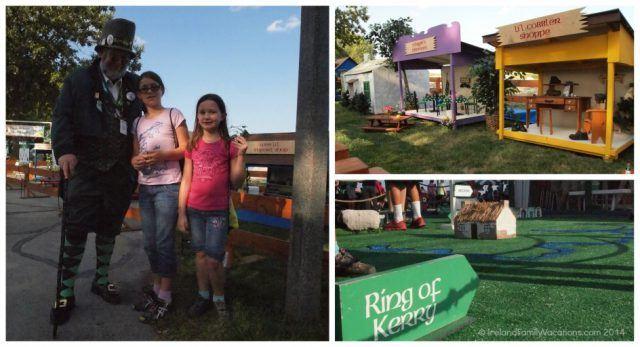 Kids area at Milwaukee Irish Fest