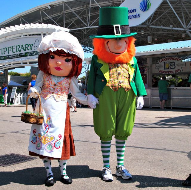 Milwaukee Irish Fest Mascots