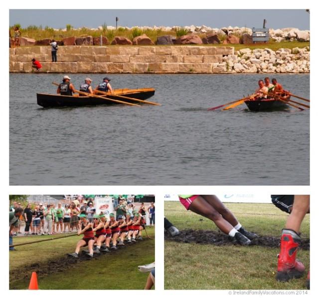 Irish games at Milwaukee Irish fest
