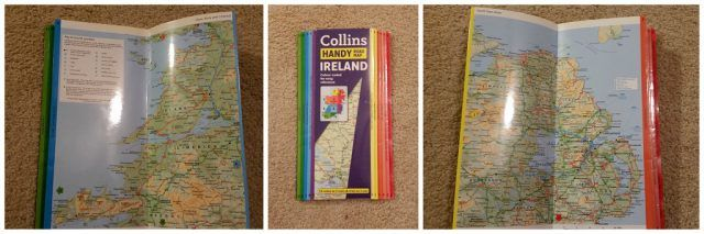 Collins Handy : The Best road map for your Ireland vacation