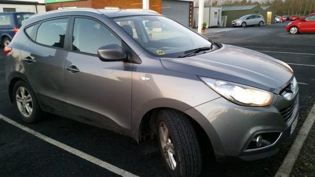 Ireland rental car booked through Carrentals.co.uk