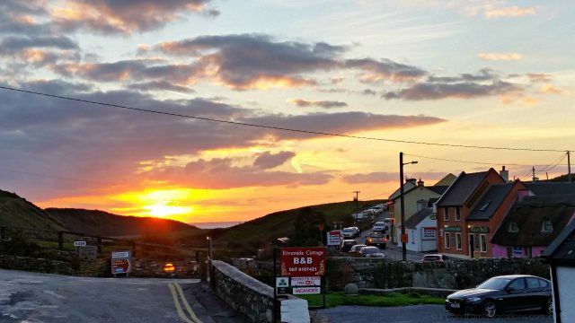 Sunset in Doolin Ireland