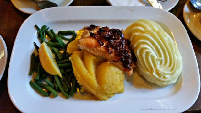 Salmon Special Durty Nelly's Bunratty Ireland Vacation