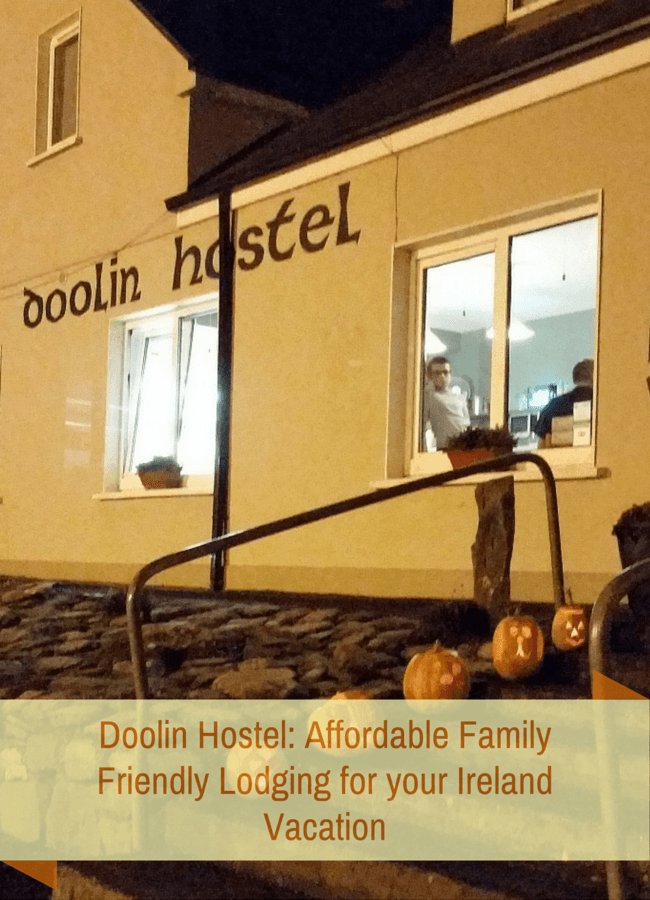 Doolin Hostel : Affordable Family Friendly Lodging in Western Ireland