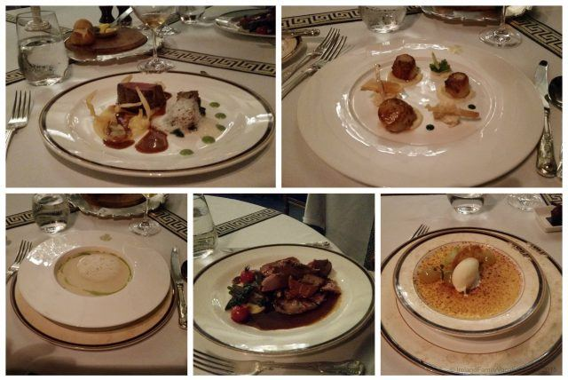 Ireland castle vacation. A 5 course meal in the George V Dining Room at Ashford Castle is an incredible experience!