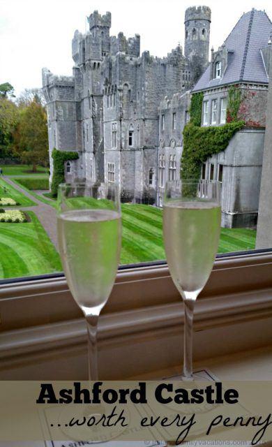 An Ireland castle vacation is definitely a splurge. Ashford Castle is worth every penny.