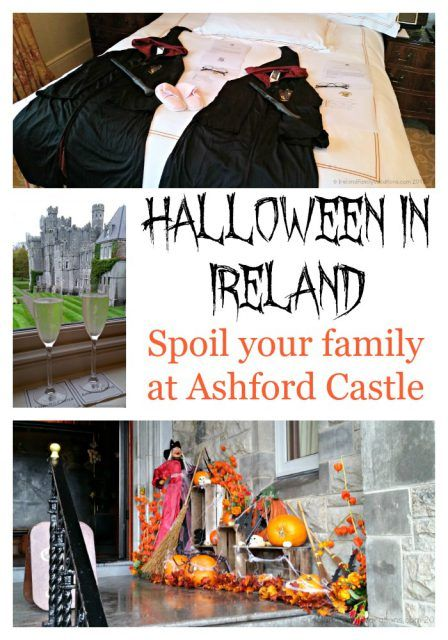 Halloween in Ireland. Make it a castle vacation filled with magic at Ashford Castle!