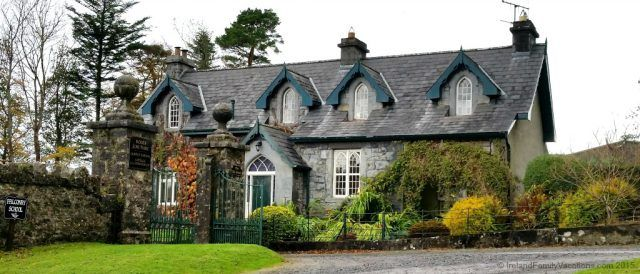 The Old School on the Ashford Castle estate. Just part of the magic of an Ireland vacation.