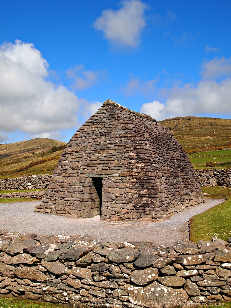 The Gallarus Oratory on the Dingle Peninsula