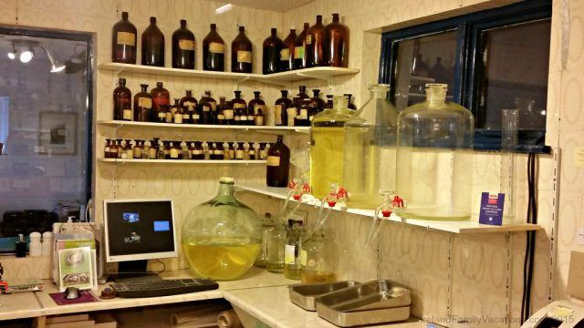 Perfumes created with natual and organic at Burren Perfumery in County Clare.