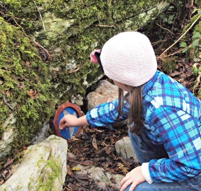 Exploring the Fairy Woodlands at the Burren Nature Sanctuary.