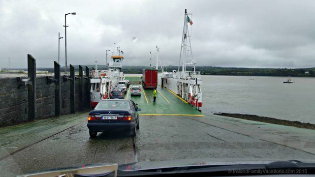Shannon Ferries- a shortcut along the Wild Atlantic Way. Ireland vacation tip.