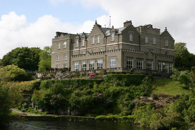 Ballynahinch Castle, Connemara, County Galway. Ireland castle hotel