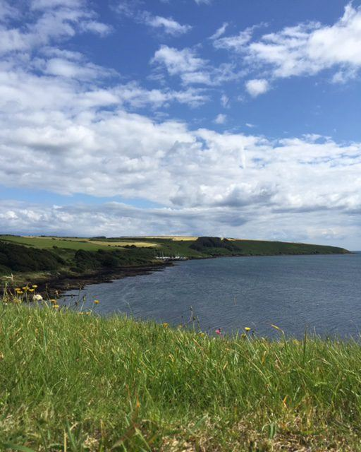 Beautiful view from Charles Fort, Kinsale, Ireland. Ireland vacation. Tips for your Ireland family vacation.
