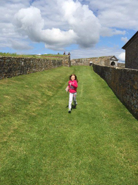 Charles Fort, Kinsale, County Cork. Ireland vacation. Tips for your Ireland family vacation.