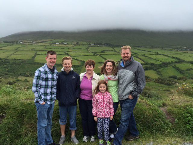 The Perry Family in Ireland. Ireland vacations. Tips for your Ireland family vacation.