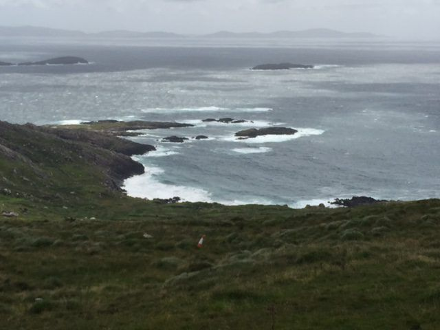 Wild and beautiful views on Ring of Kerry. Ireland vacation