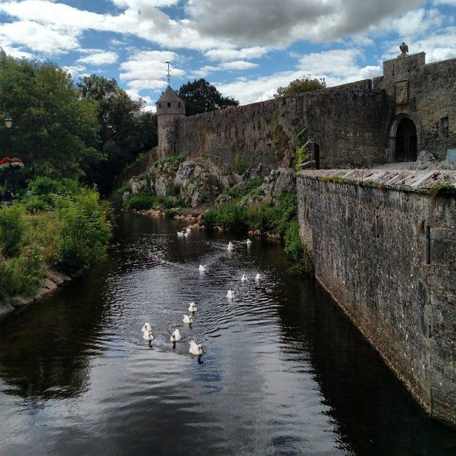 Cahir Castle, one of the best castles to visit during an Ireland family vacation. Ireland vacation tips.