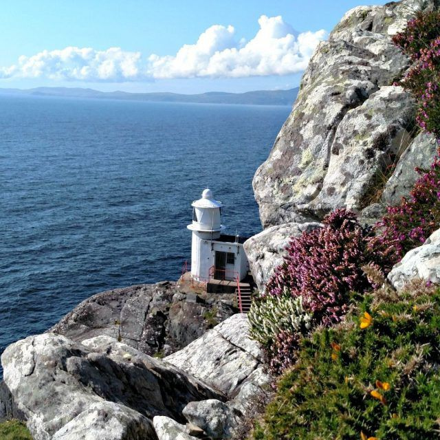 Signal station at the end of Sheeps's Head Peninsula, County Cork. Ireland vacation tips. IrelandFamilyVacations.com