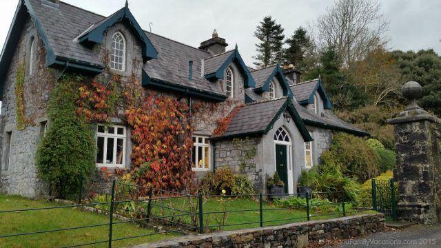 Old Schoolhouse at Ashford Castle. Ireland castle vacations. Ireland travel tips.